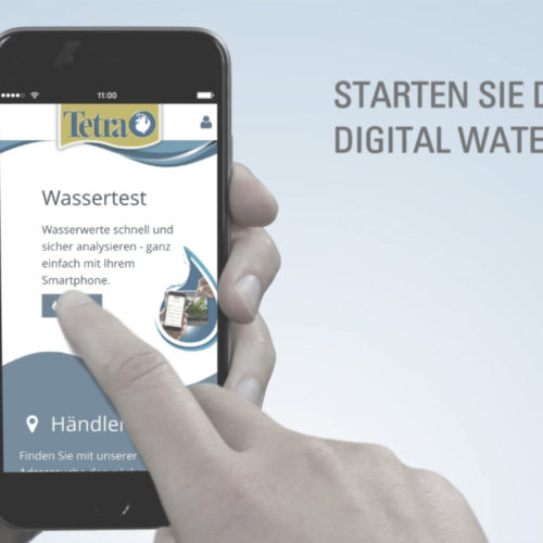 Drehteam Tetra How-To Erklärvideo Aquarium App