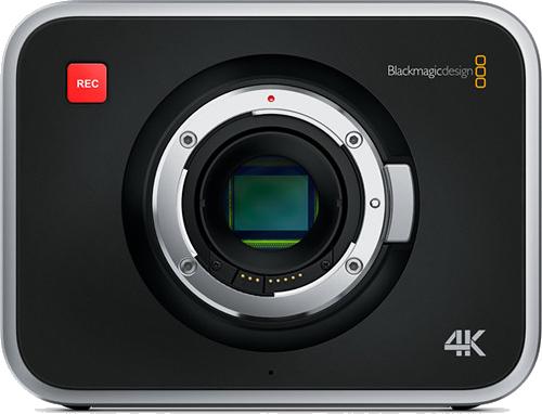 Drehteam Film Kamera Black Magic 4K