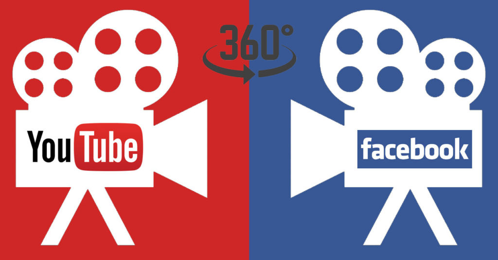 360 Grad Facebook YouTube