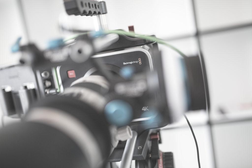 Drehteam Black Magic Design Production 4K Kamera